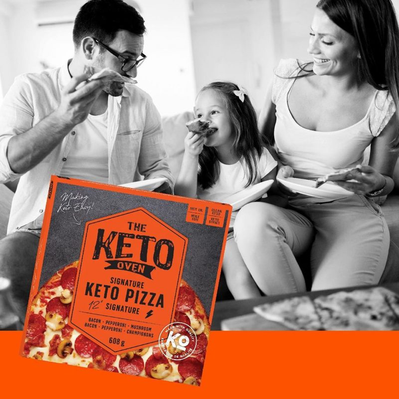 Signature Keto Pizza - The Keto Oven - KETO Certified by the Paleo Foundation