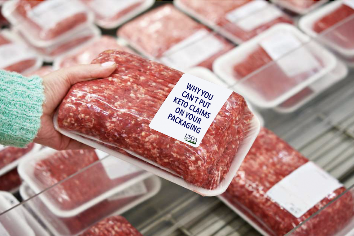"Why ""Keto"" Claims Cannot Appear On USDA-Inspected Packaging"