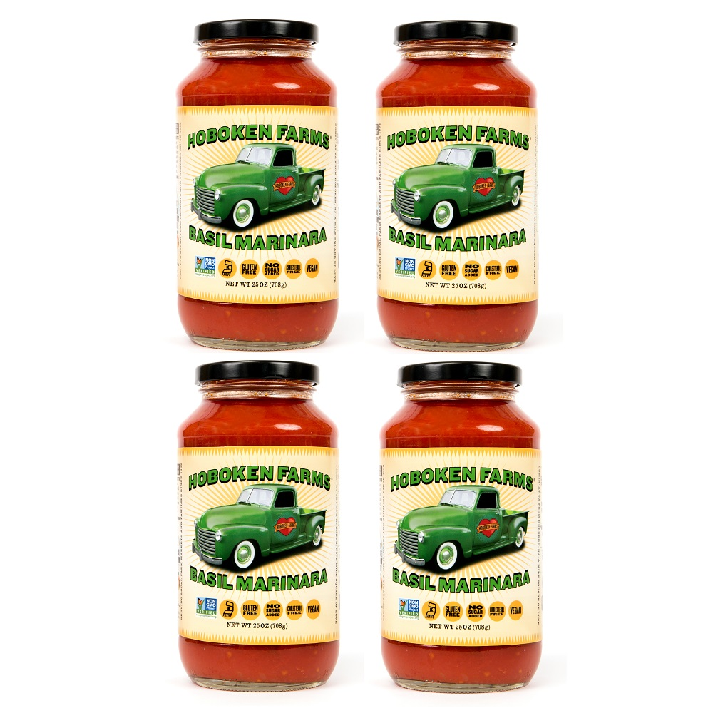 Basil Marinara Sauce - Hoboken Farms - KETO Certified by the Paleo Foundation