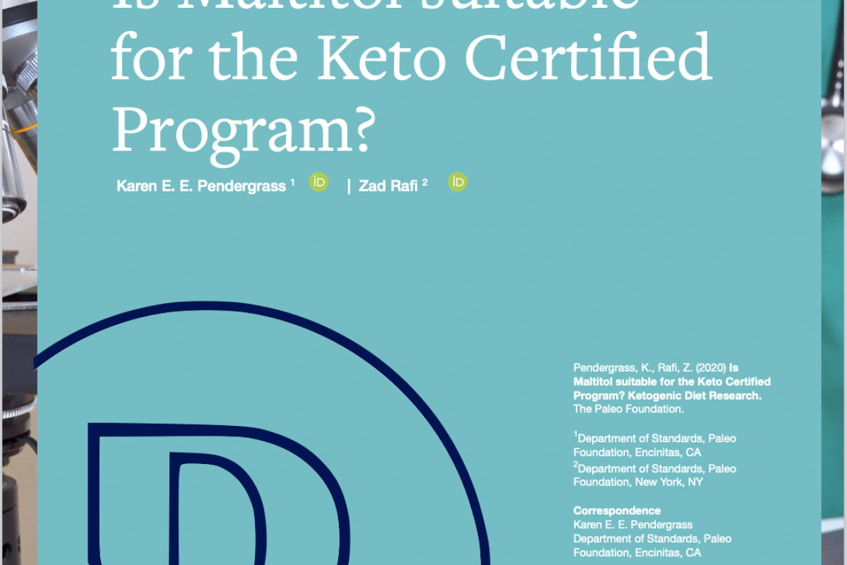 Is Maltitol Suitable for the Keto Certified Program?