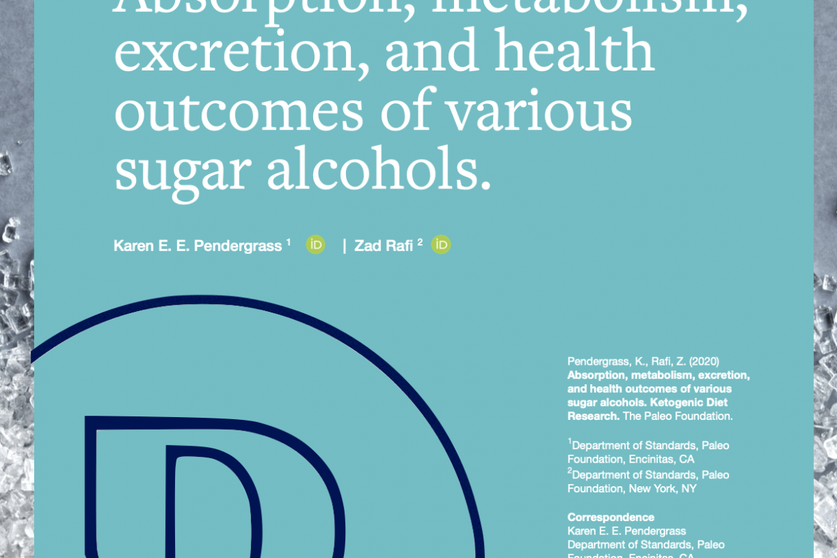 Absorption, metabolism, excretion, and health outcomes of sugar alcohols