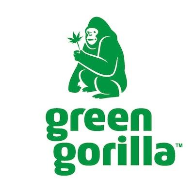 Green Gorilla Logo - Certified Paleo CBD New Hope Expo West