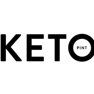 Keto Pints logo - Keto Certified ice cream Expo West