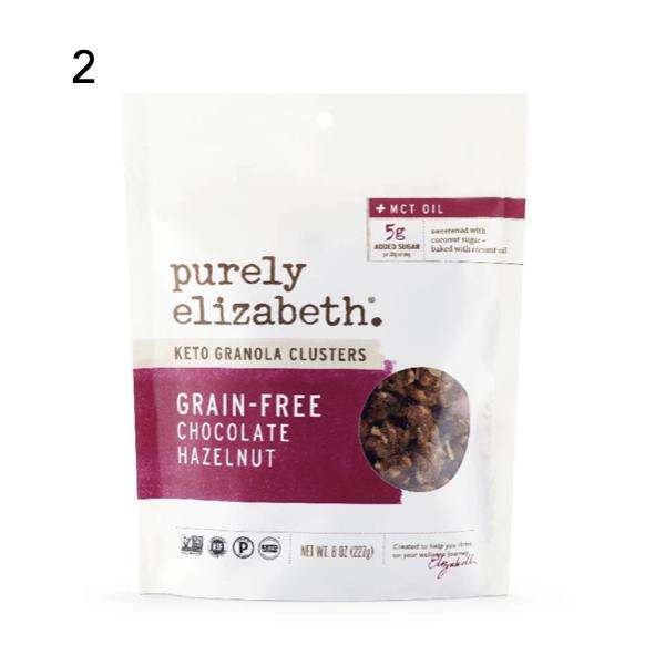 Chocolate Hazelnut Keto Granola Clusters Purely Elizabeth