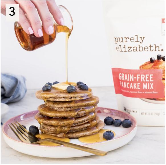 Purely Elizabeth Certified Paleo Grain-Free Pancake Mix