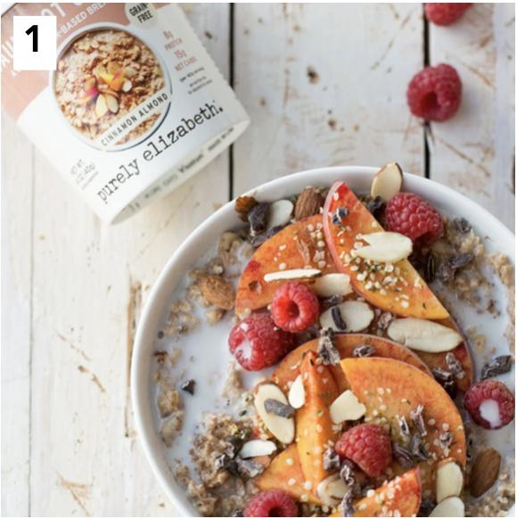 Purely Elizabeth Cinnamon Almond Cauliflower Cereal