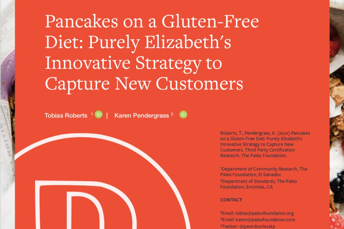 Purely Elizabeth's Grain-Free Pancakes: an Innovative Strategy
