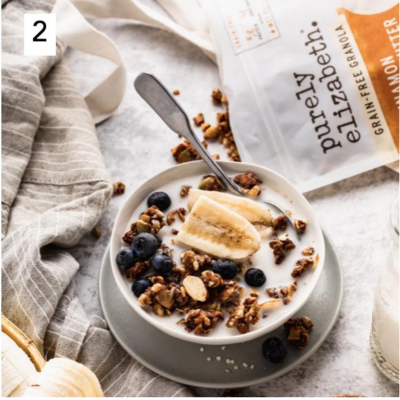 Purely Elizabeth Keto Certified Grain Free Cinnamon Peanut Butter Keto Clusters