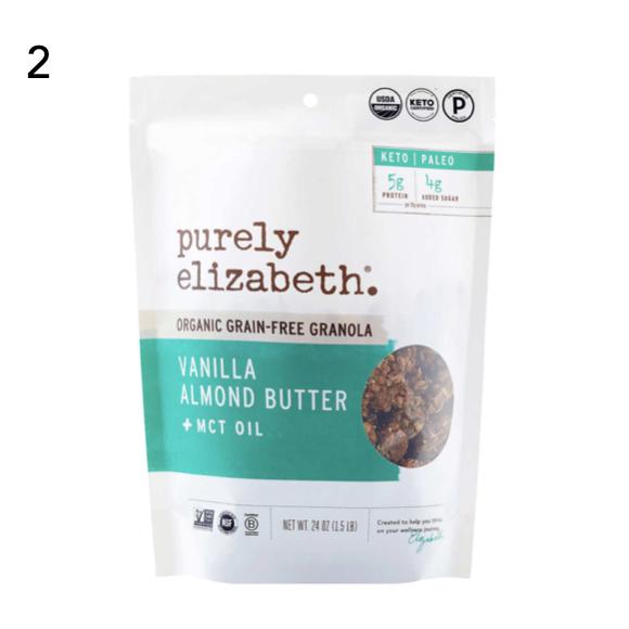 Purely Elizabeth Organic Grain-Free Granola Vanilla Almond Butter