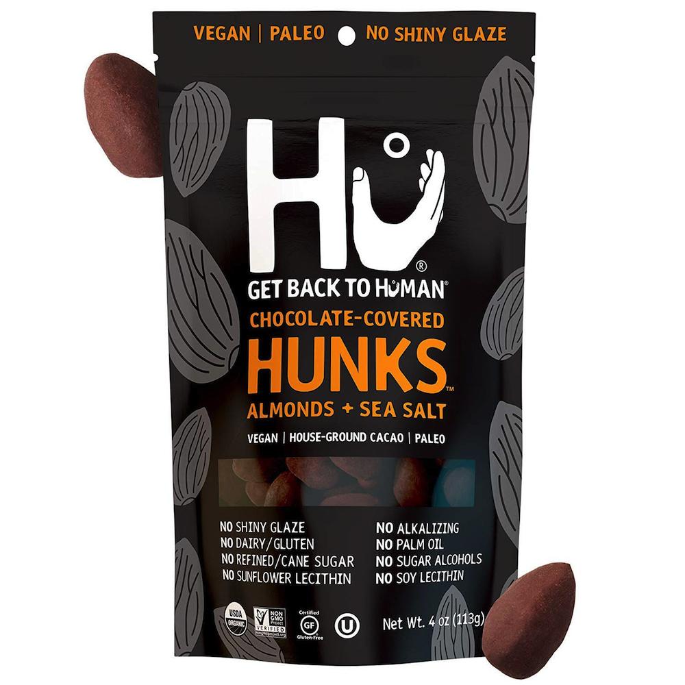 Almond & Sea Salt Hunks - Hu Kitchen - Certified Paleo by the Paleo Foundation