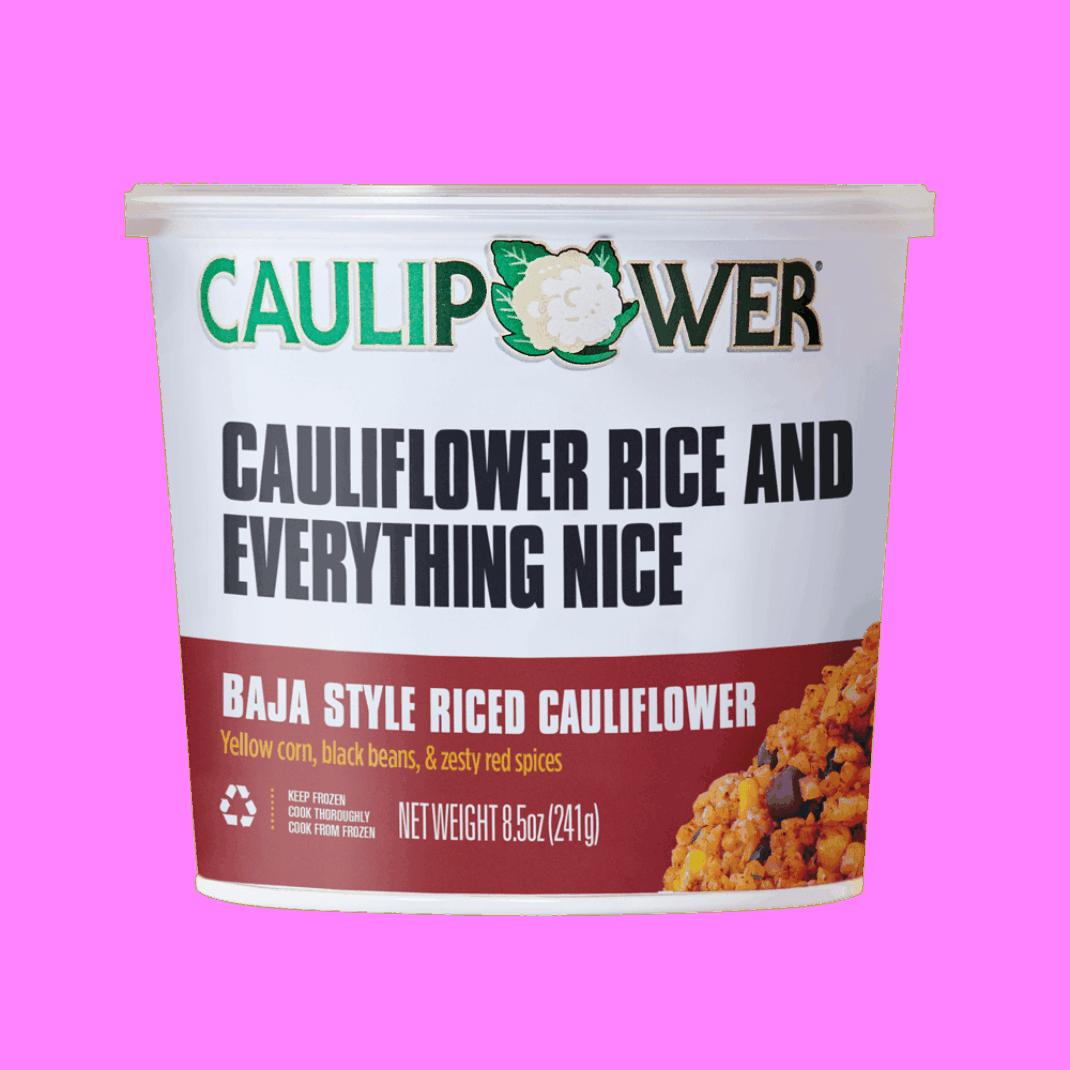 Baja Style Cauliflower Rice - Caulipower - Keto Certified by the Paleo foundation