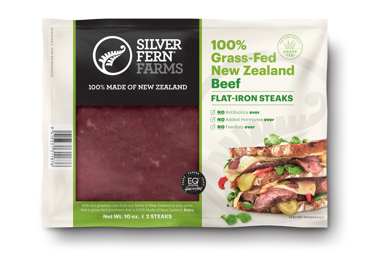 Beef Flat-Iron Steaks - Silver Fern Farms - Certified Paleo, Keto Certified by the Paleo Foundation