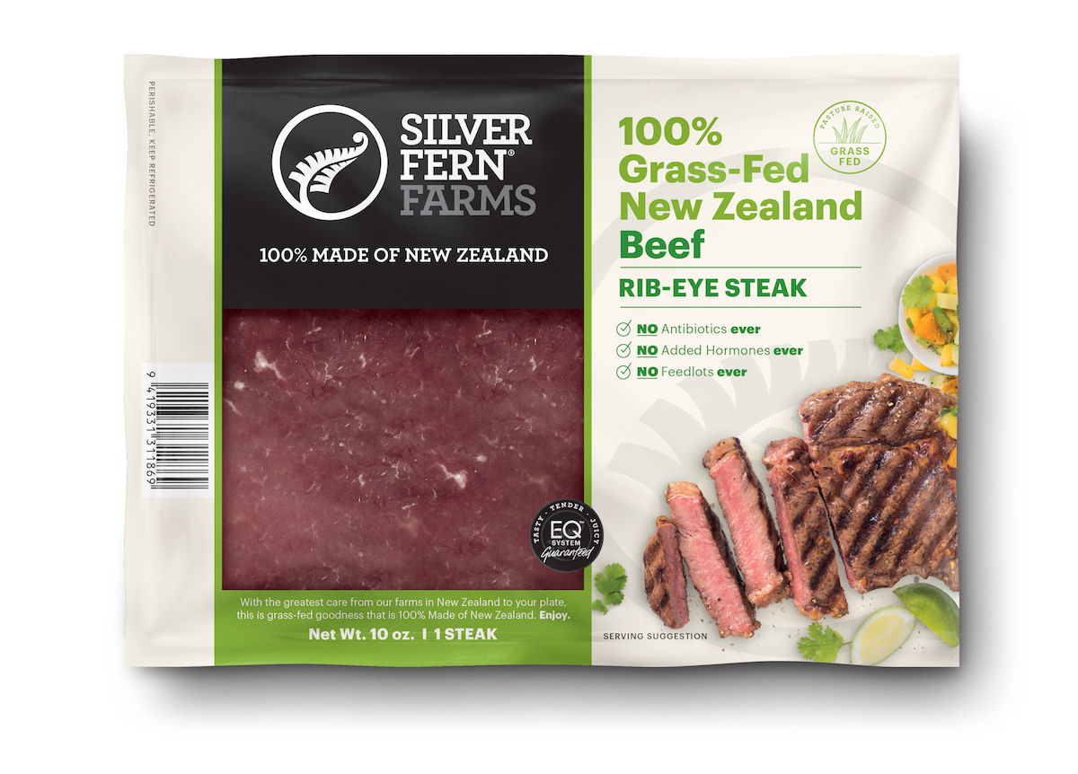 Beef Rib-Eye - Silver Fern Farms - Certified Paleo, Keto Certified by the Paleo Foundation