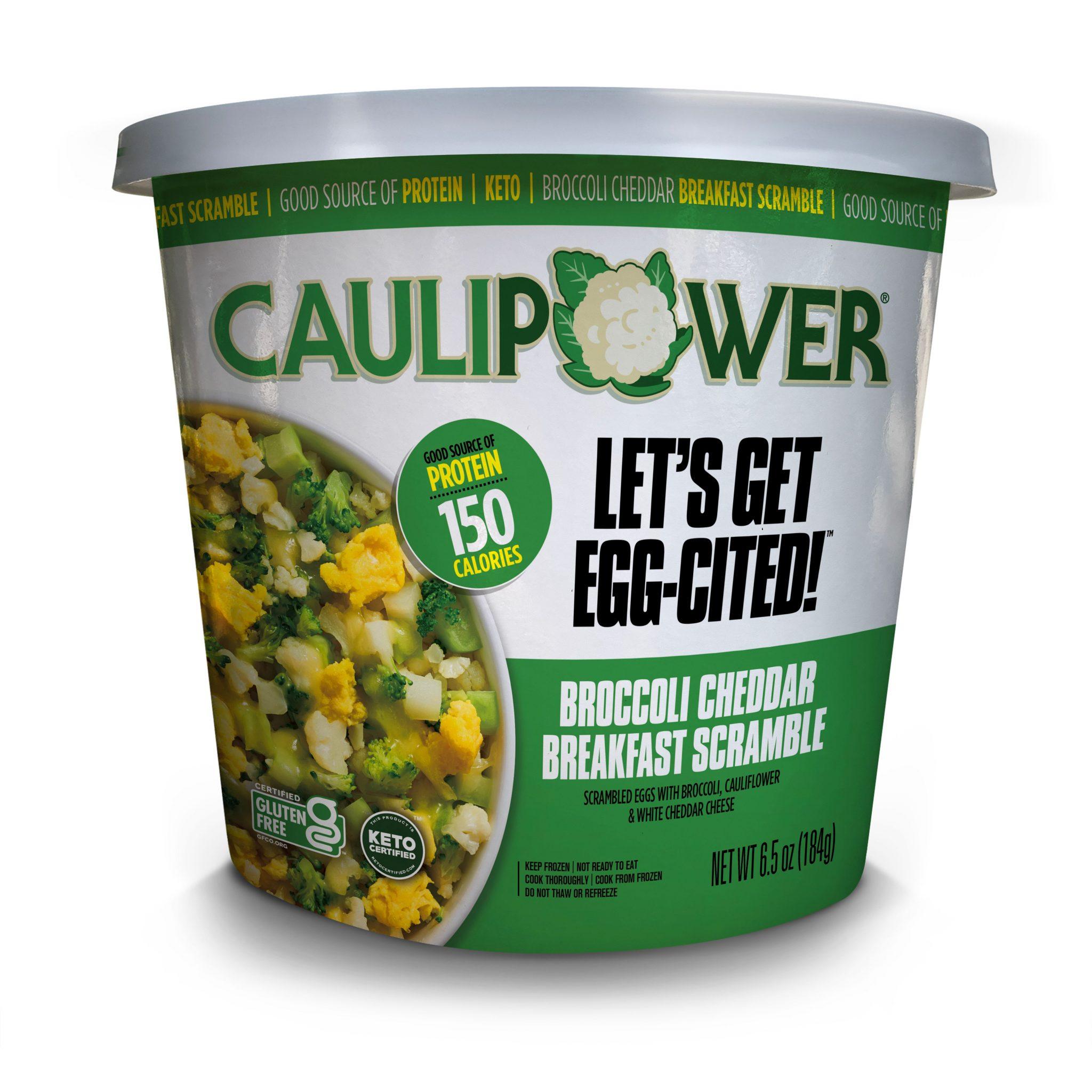 Broccoli Cheddar Breakfast Scramble - Caulipower - Keto Certified by the Paleo Foundation