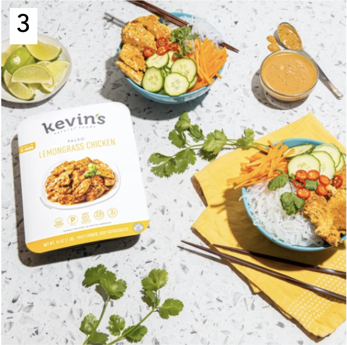 Kevin's Natural Foods Certified Paleo Lemongrass Chicken