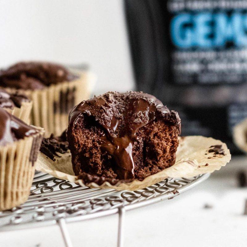 Chocolate Ganache Lava Muffins 1 - Hu Kitchen - Certified Paleo by the Paleo Foundation