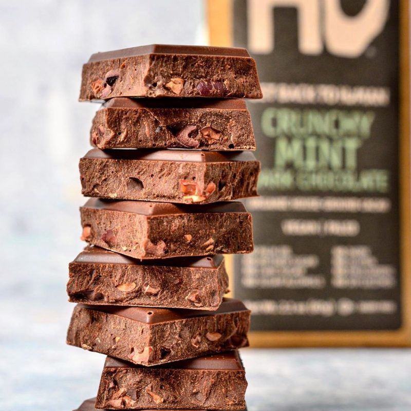 Crunchy Mint Dark Chocolate 1 - Hu Kitchen - Certified Paleo by the Paleo Foundation