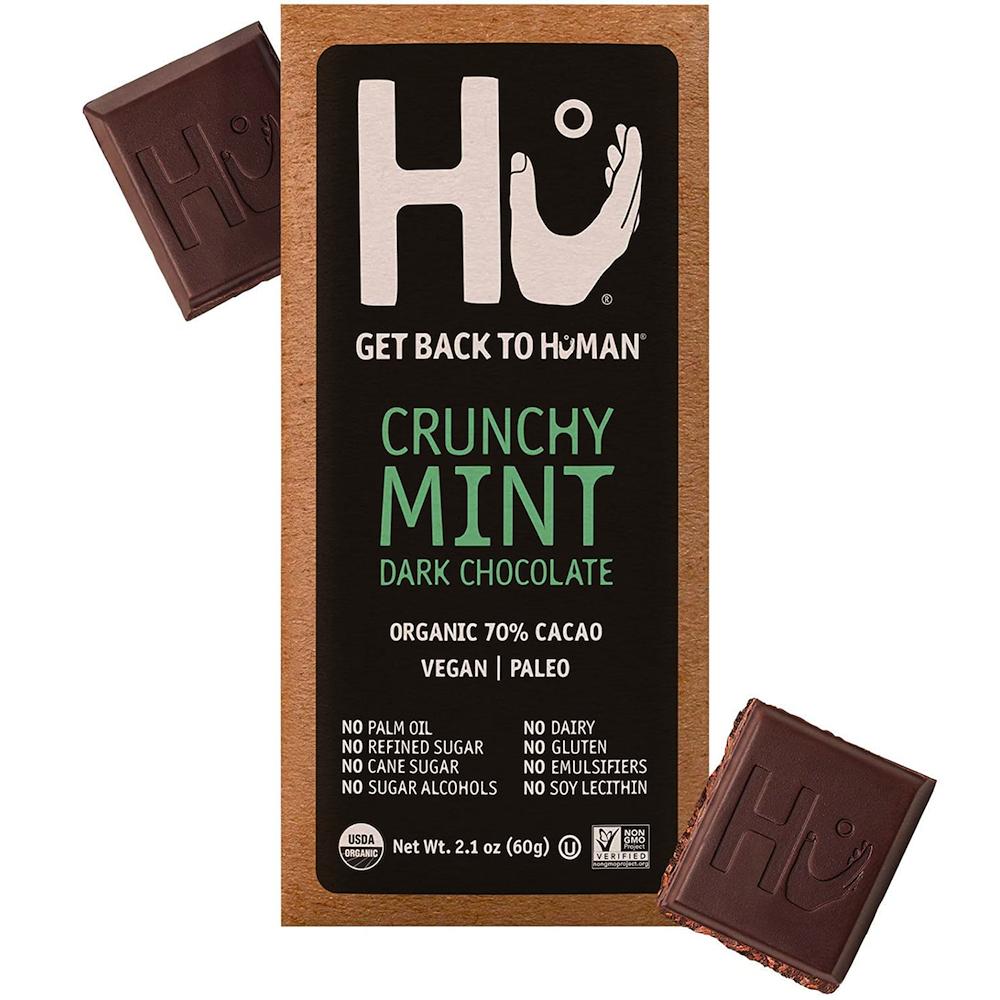 Crunchy Mint Dark Chocolate - Hu Kitchen - Certified Paleo by the Paleo Foundation
