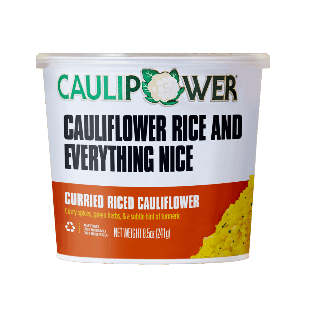 Curry Cauliflower Rice - Caulipower - Keto Certified by the Paleo Foundation