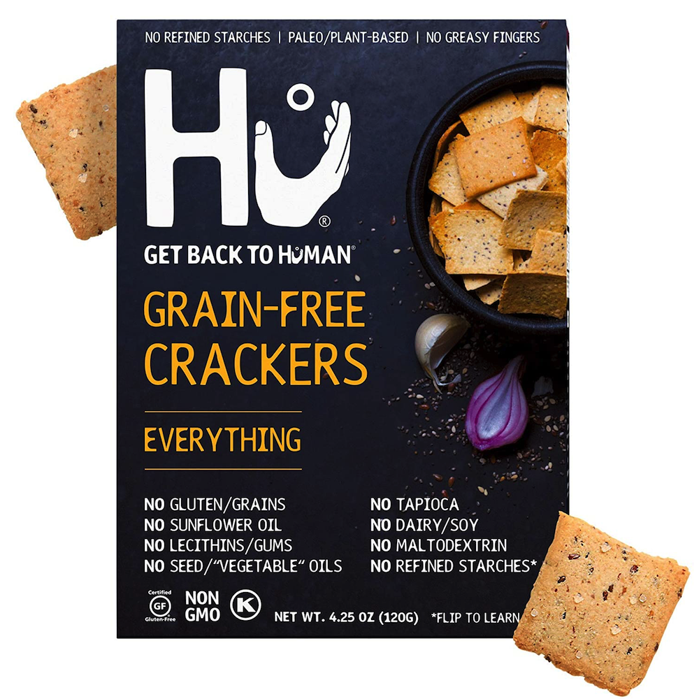 Grain Free Crackers - Everything - Hu Kitchen - Certified Paleo by the Paleo Foundation