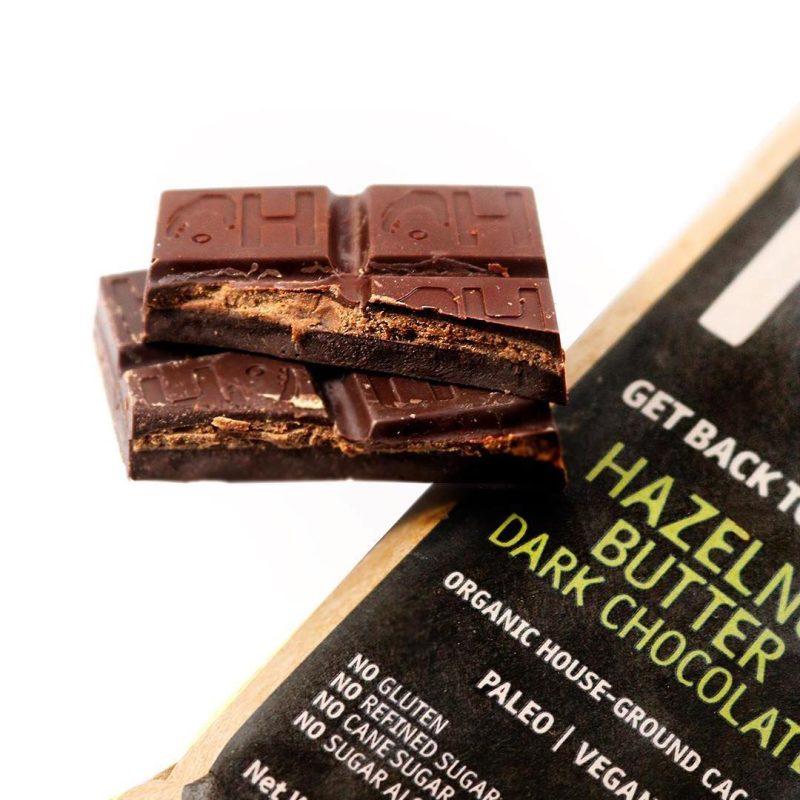Hazelnut Butter Chocolate 1 - Hu Kitchen - Certified Paleo by the Paleo Foundation