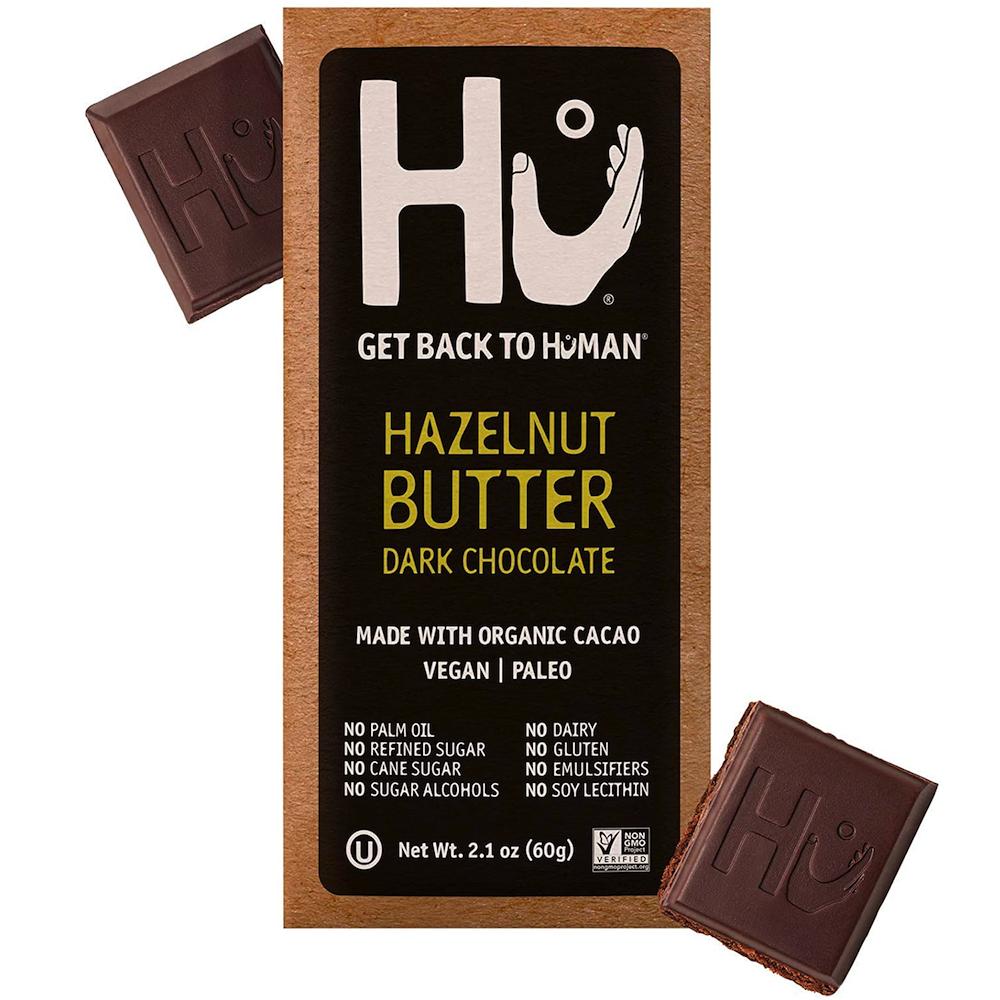 Hazelnut Butter Dark Chocolate - Hu Kitchen - Certified Paleo by the Paleo Foundation