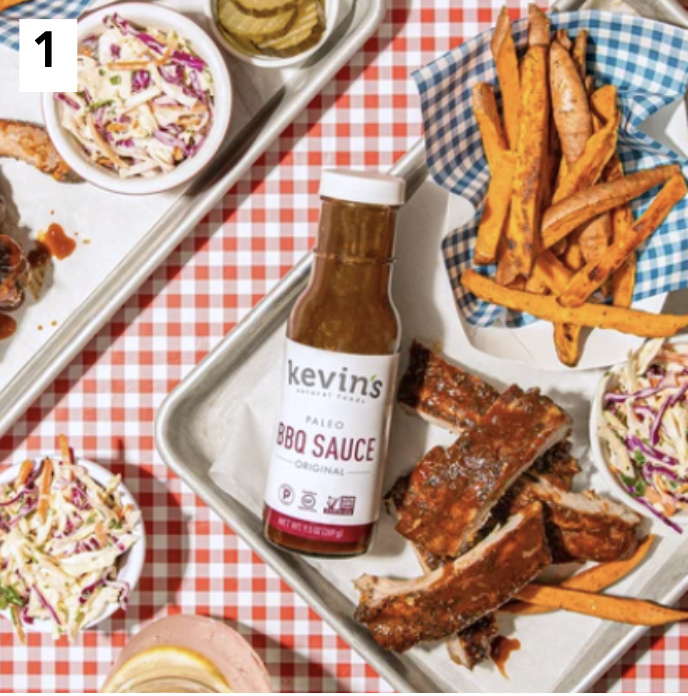 Kevin's Natural Foods Certified Paleo BBQ sauce