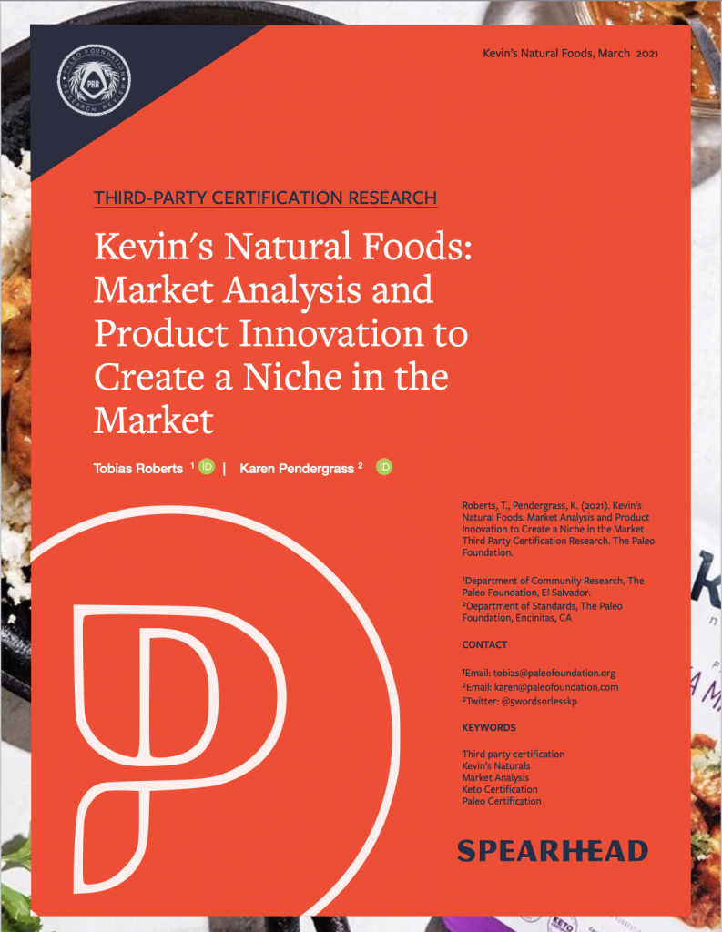 Kevin's Natural Foods Paleo and Keto Certified Ready to Eat meals, seasonings, sauces, and side dishes