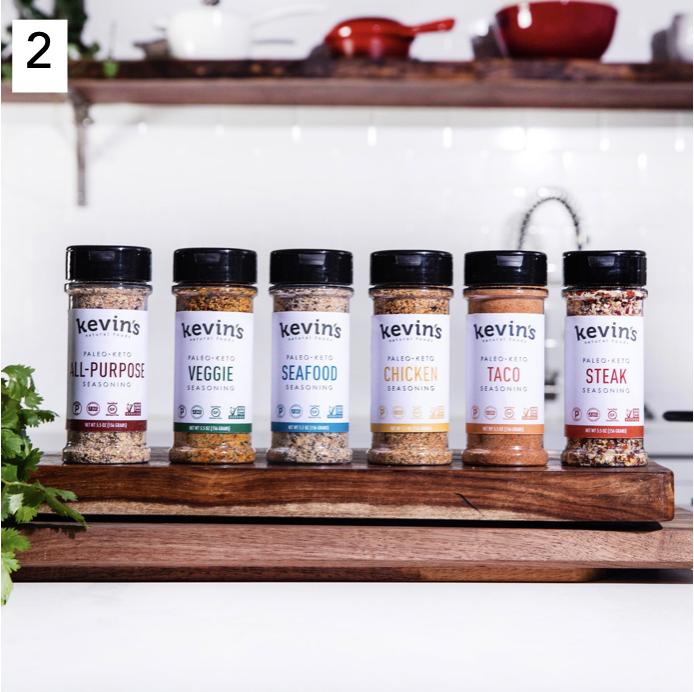 Kevin's Natural Foods Paleo and Keto Certified Seasonings