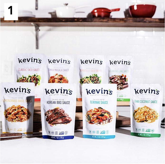 Kevin's Naturals Keto Certified Sauces