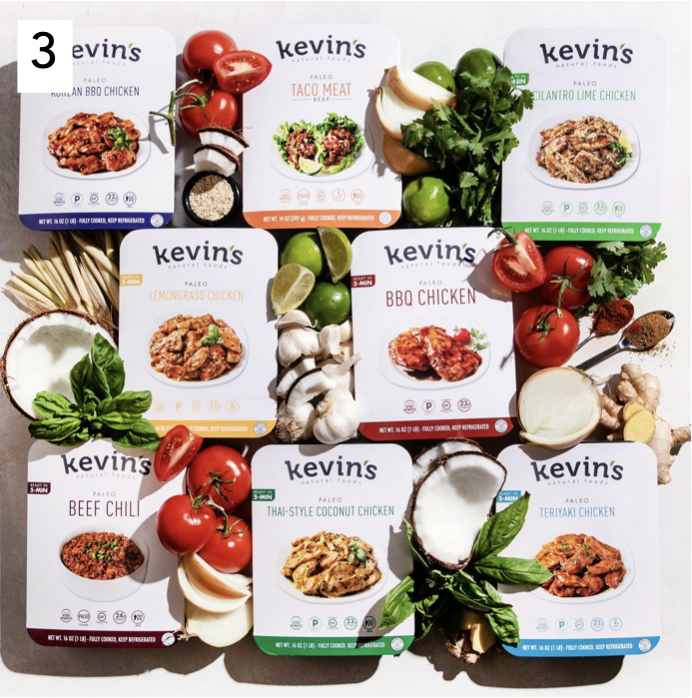 Kevin's Naturals Ready to eat meals