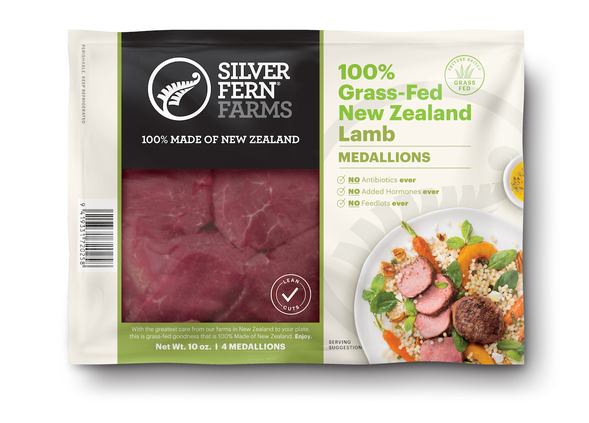 Lamb Medallions - Silver Fern Farms - Certified Paleo, Keto Certified by the Paleo Foundation