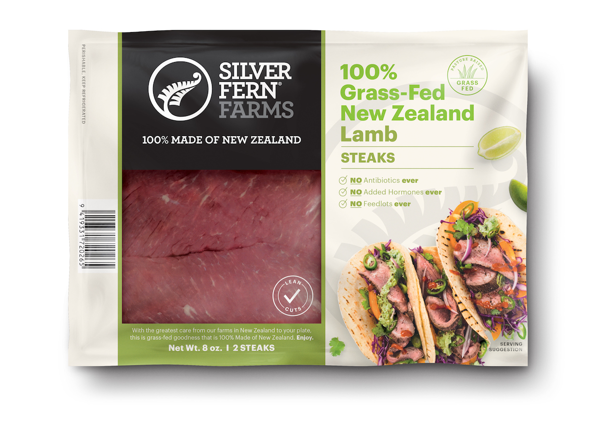 Lamb Steak - Silver Fern Farms - Certified Paleo, Keto Certified by the Paleo Foundation