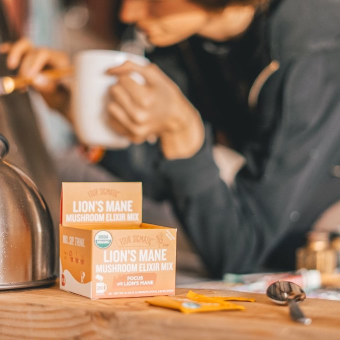 Keto Certified Lion's Mane Mushroom Elixir Mix Four Sigmatic