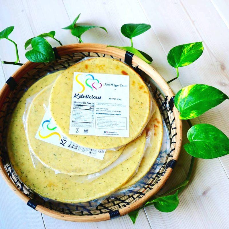 Premium Ketogenic Pizza Crust 3 - Sooo Ketolicious - Keto Certified by the Paleo Foundation
