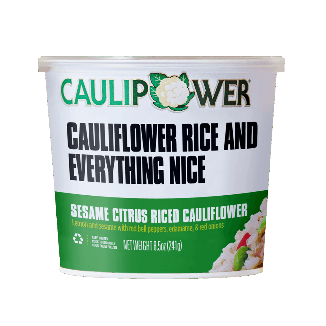 Sesame Citrus Riced Cauliflower - Caulipower - Keto Certified by the Paleo Foundation