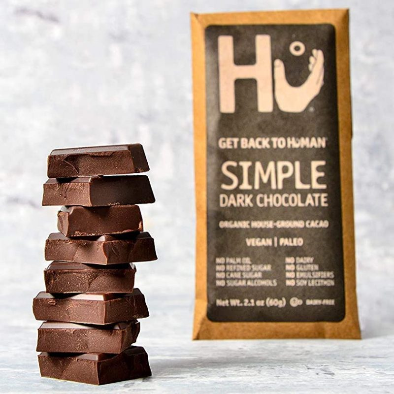 Simple Dark Chocolate 01 - Hu Kitchen - Certified Paleo by the Paleo Foundation