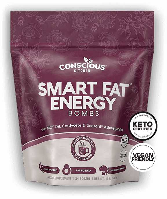 Smart Fat Energy Bombs - Conscious Kitchen - Keto Certiifed by the Paleo Foundation