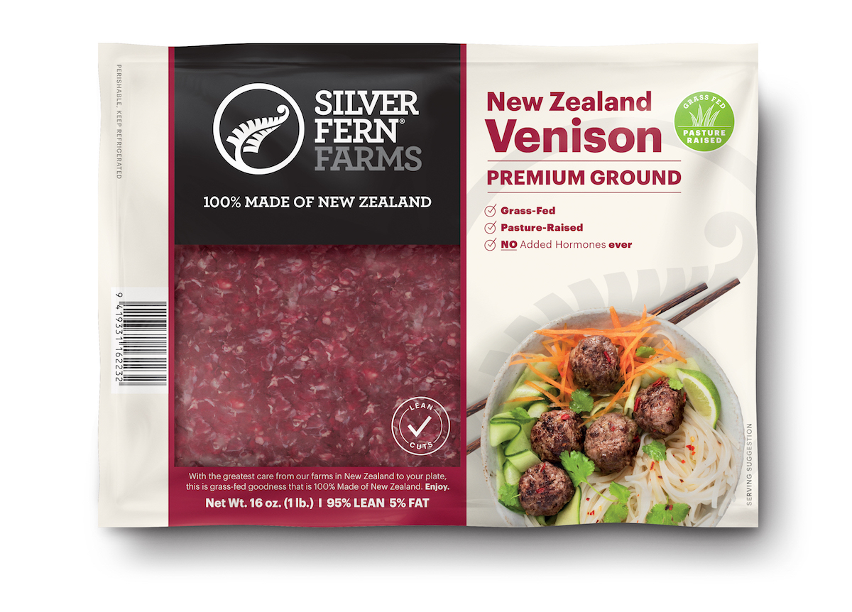 Venison Ground - Silver Fern Farms - Certified Paleo, Keto Certified by the Paleo Foundation