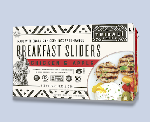 Chicken and Apple Breakfast Sliders Tribali