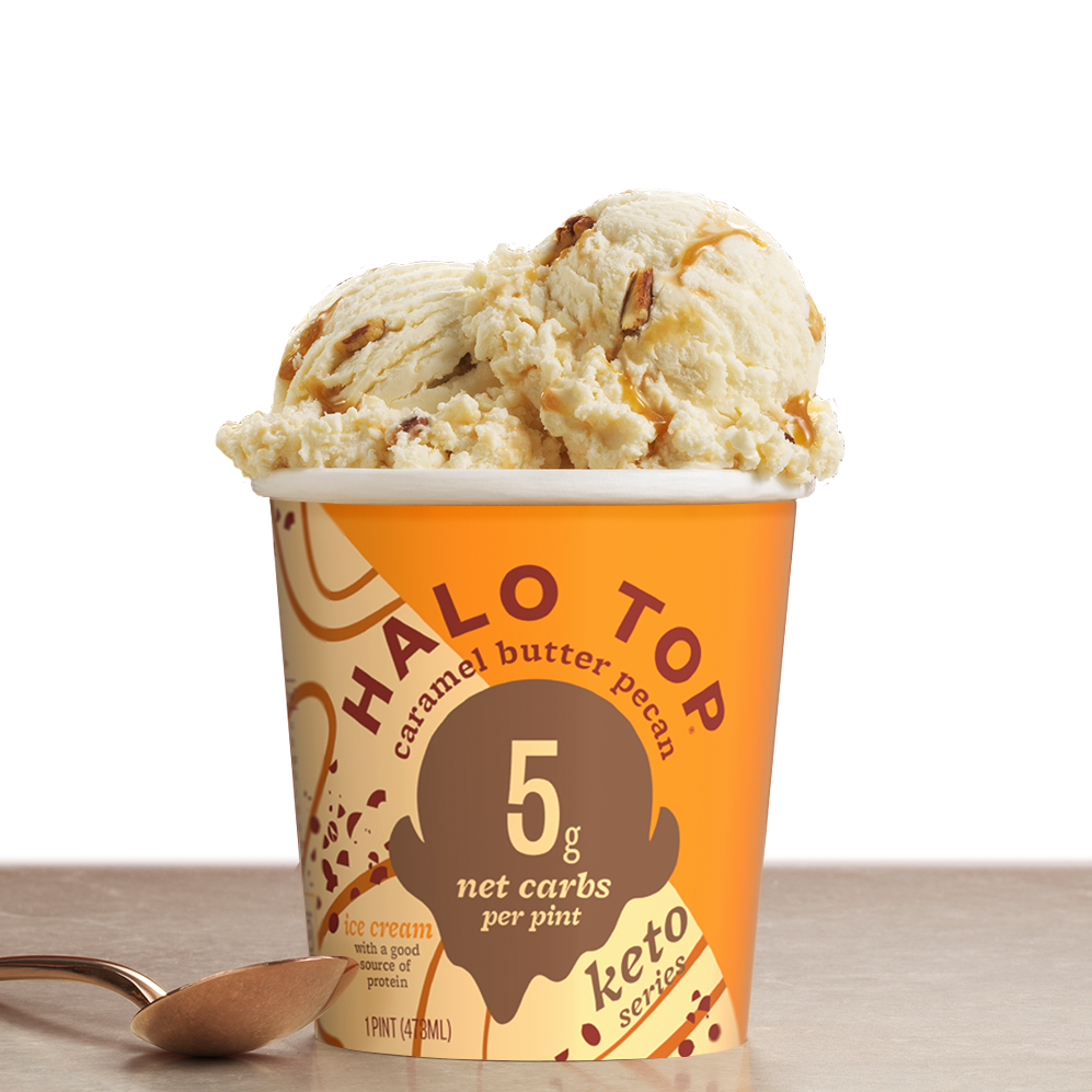 Caramel Butter Pecan - Halo Top - Keto Certified by the Paleo Foundation
