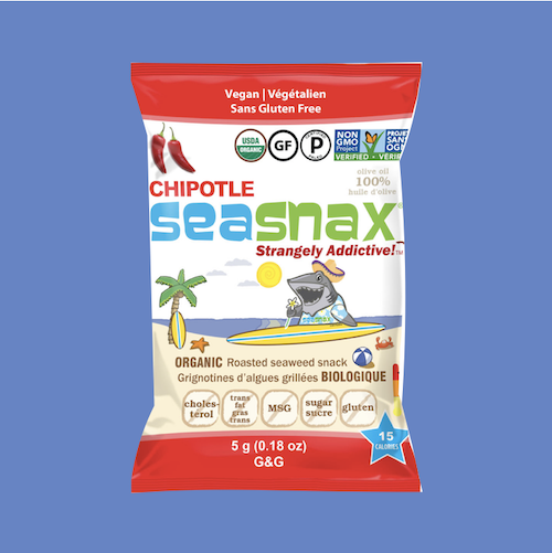 Chipotle SeaSnax seaweed snacks