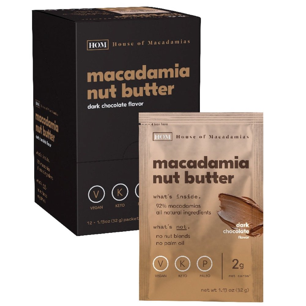 Dark Chocolate Macadamia Butter