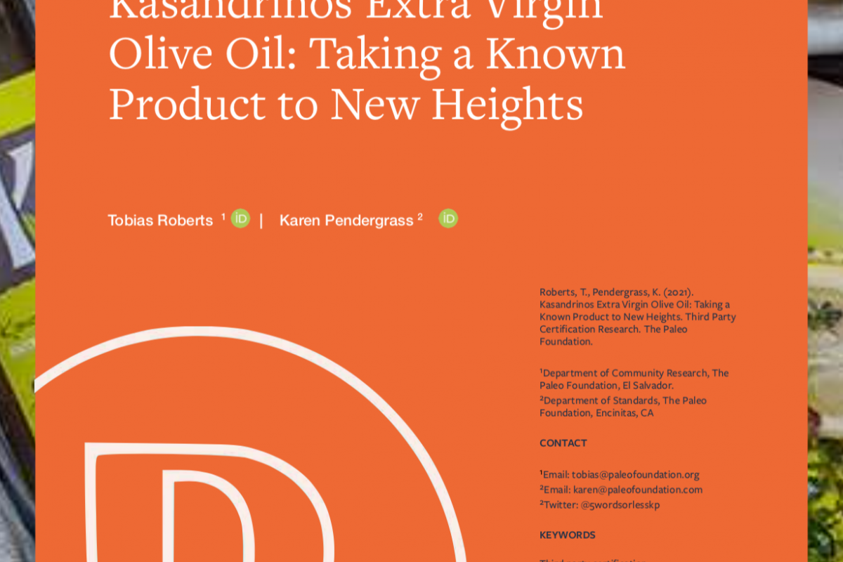 Kasandrinos Extra Virgin Olive Oil: Taking Known Products to New Heights