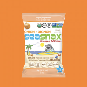 Onion seaweed snacks