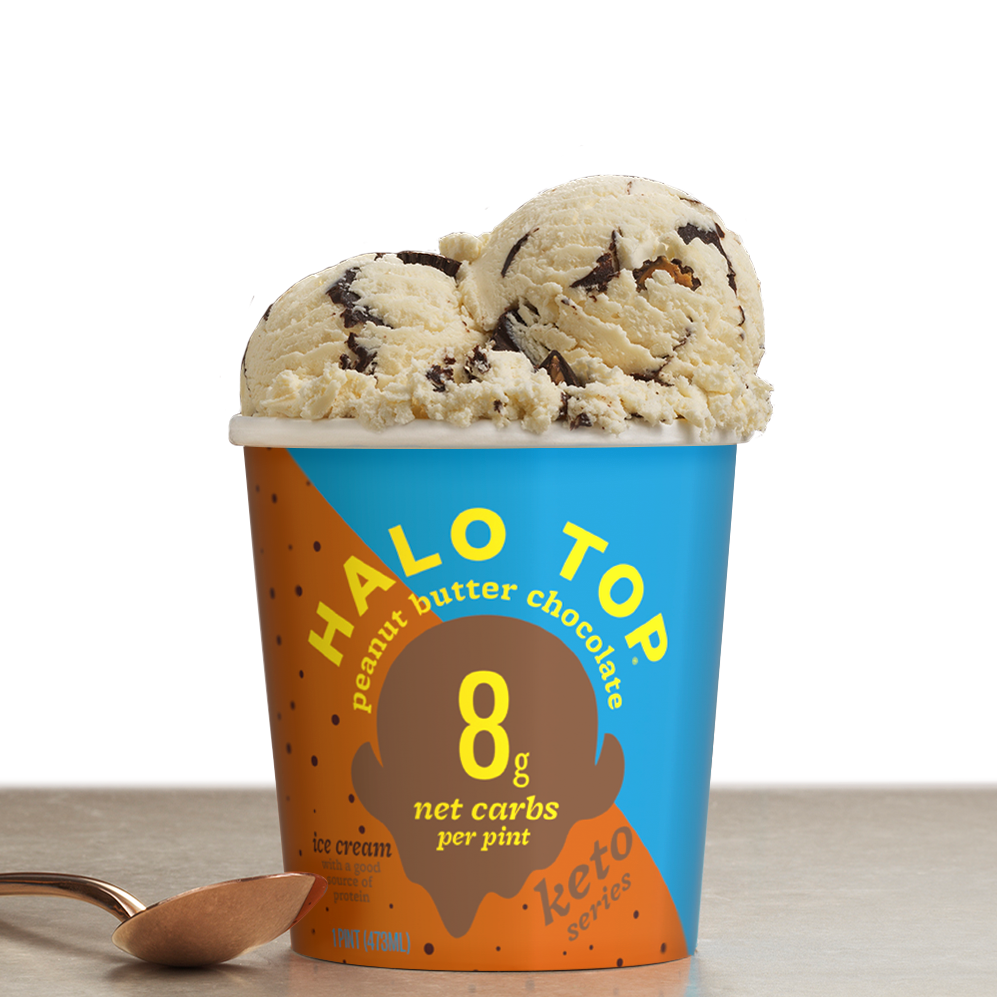 Peanut Butter Chocolate - Halo Top - Keto Certified by the Paleo Foundation