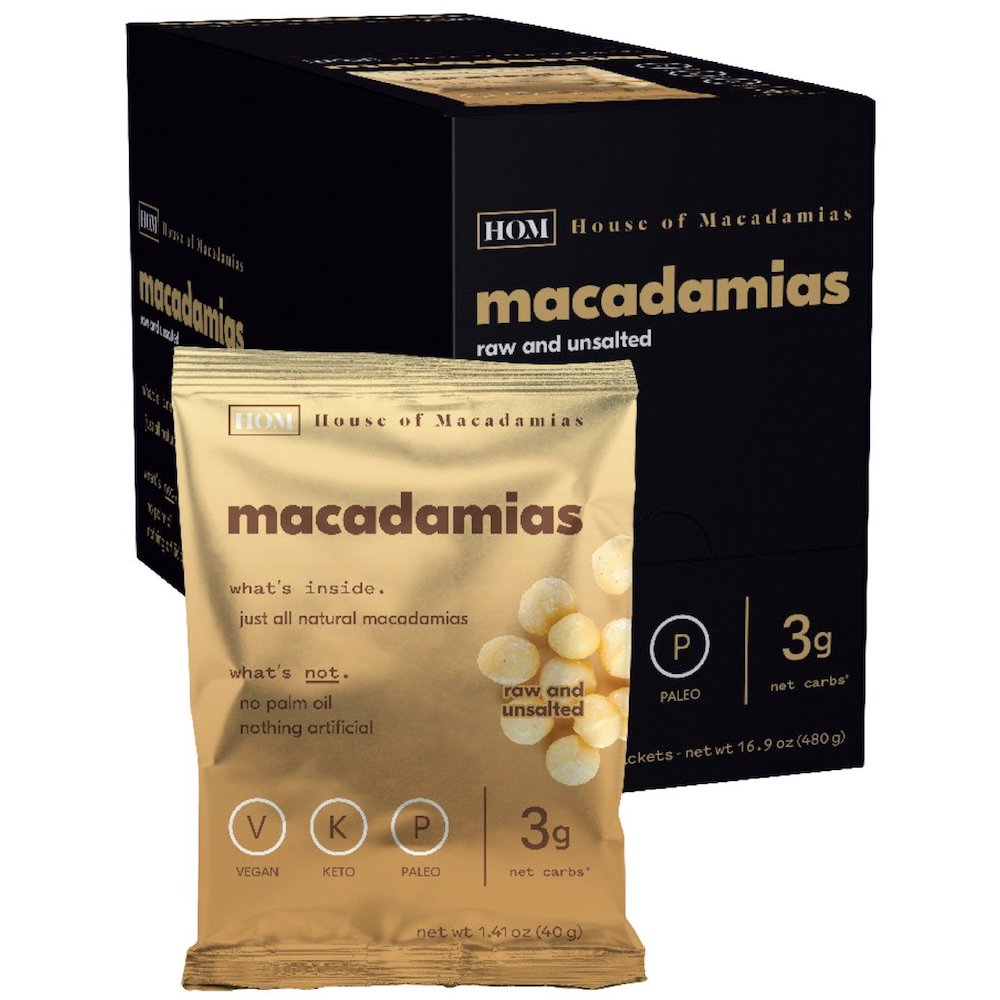 Raw Macadamias Nuts