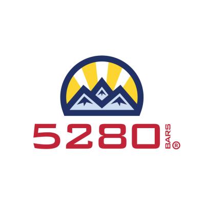 5280 Bars logo - Certified Paleo Friendly, Paleo Vegan, Certified Grain Free Gluten Free by the Paleo Foundation