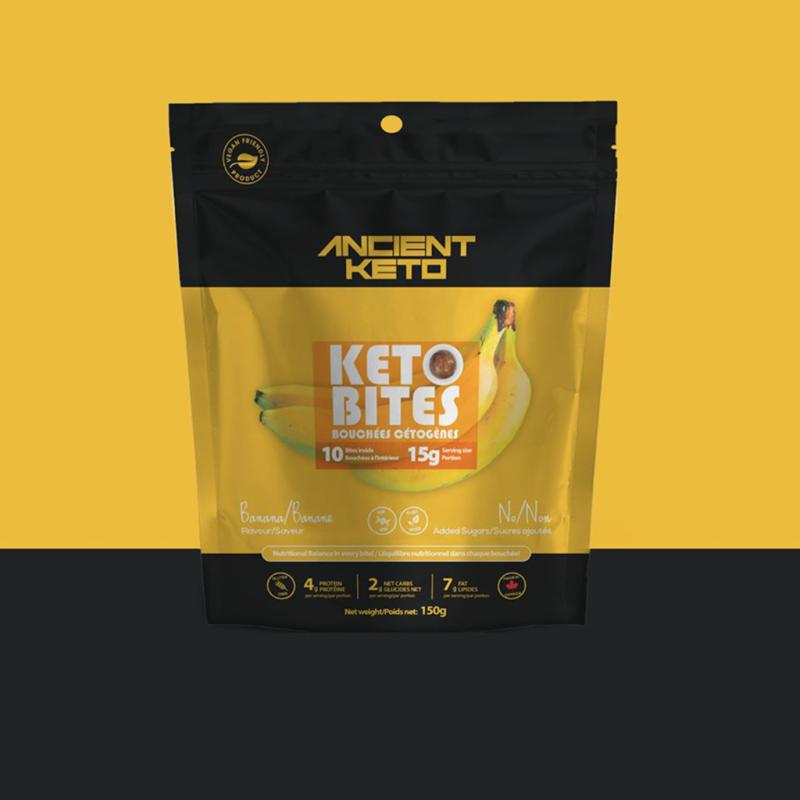 Banana Keto Bites 1 - Keto Certified by the Paleo Foundation