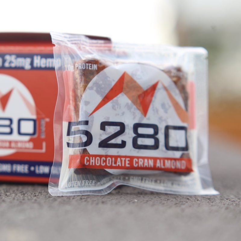 Chocolate Cran Almond 10 - 5280 Bars - Certified Paleo Friendly, Certified Grain Free Gluten Free by the Paleo Foundation
